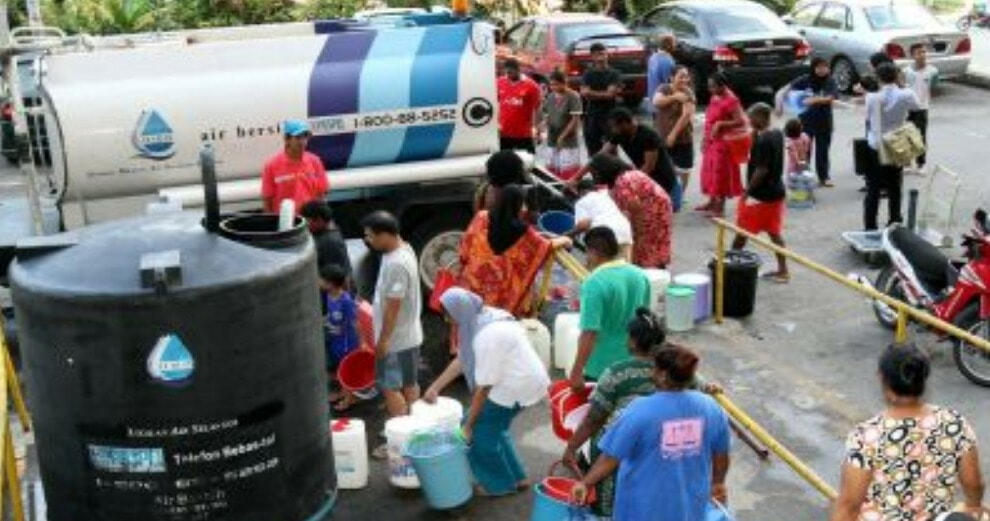 These Areas in Klang Valley Are Affected by Water Cuts Caused by Garbage Clogging Water Treatment Plant - WORLD OF BUZZ
