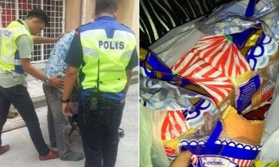 This Story of Kind PDRM Officer Helping Father Who Stole Bread to Feed Son Will Make You Cry - WORLD OF BUZZ