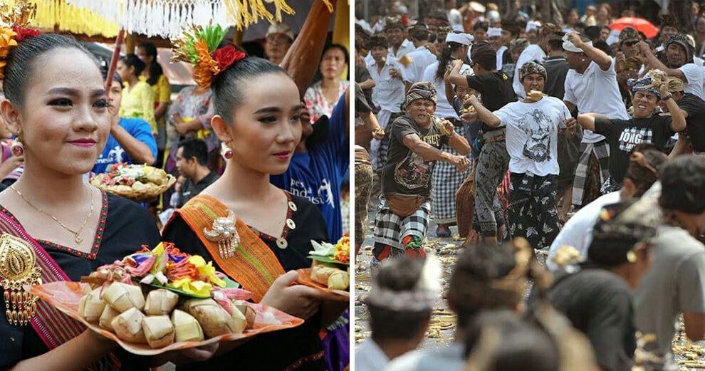 Throwing Ketupat at Each Other in Lombok and Other Unique Hari Raya Traditions From Across the Globe! - WORLD OF BUZZ 5