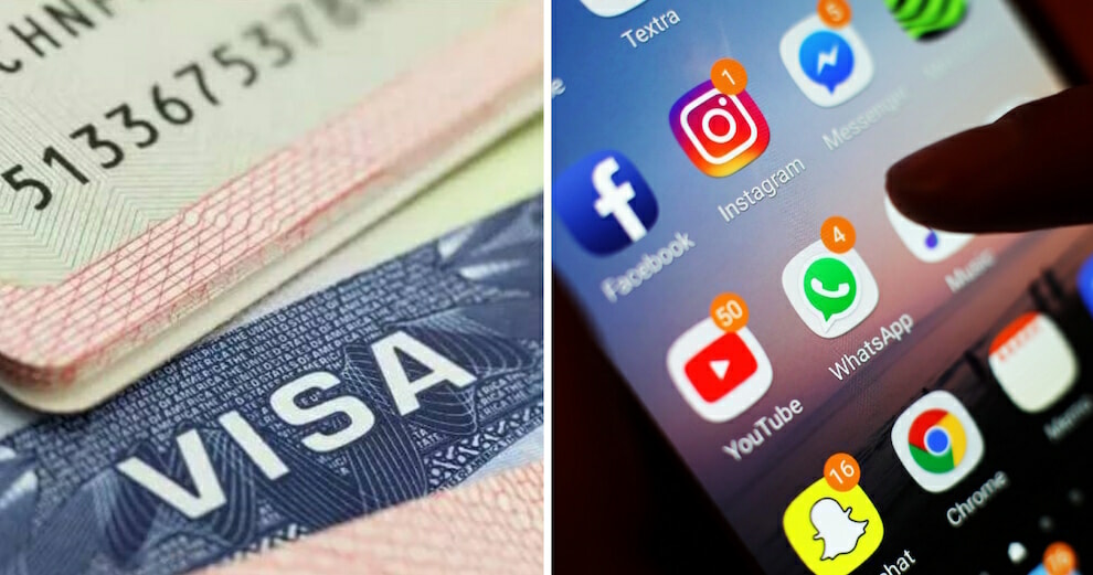 Travellers Applying For A United States Visa Will Now Have To List Their Social Media Platforms - World Of Buzz 2