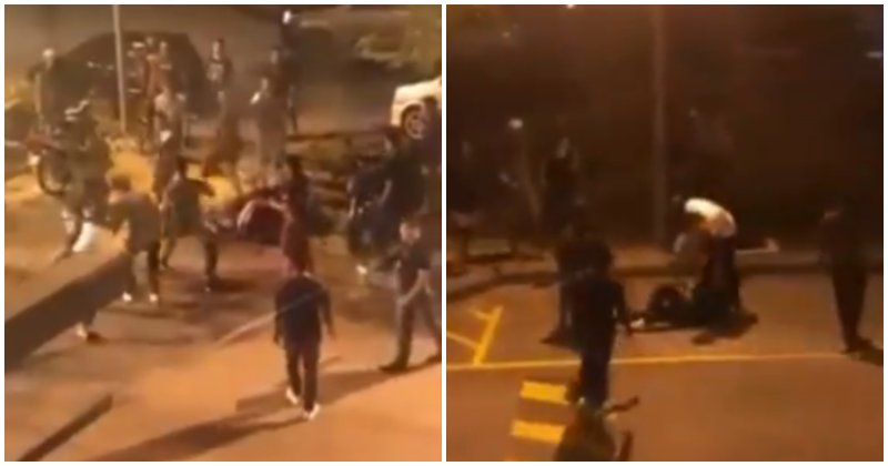 Viral Video Captures Big Brawl At A Mcdonald's In Kuantan, Netizens Try To Guess The Reason Behind It - World Of Buzz 2