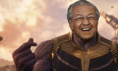 Was Thanos Right? Looks Like Our Prime Minister Dr Mahathir Thinks So! - WORLD OF BUZZ