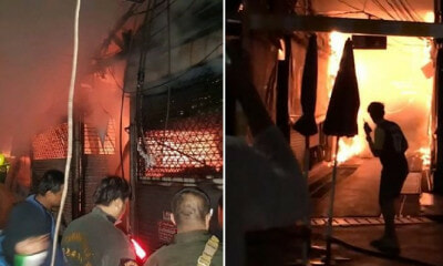 Watch: Fire Destroys Over 100 Shops At Chatuchak Market, Likely Caused By Transformer Blast - WORLD OF BUZZ 4