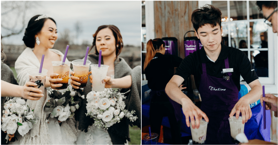 Woman Shares Happiness After Her Bubble Tea Wedding Dream Came True - WORLD OF BUZZ 4