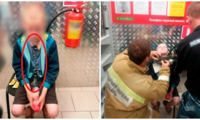 10yo Boy Chained & Starved in a Cellar BDad Found In Supermarket Scavenging For Food - WORLD OF BUZZ