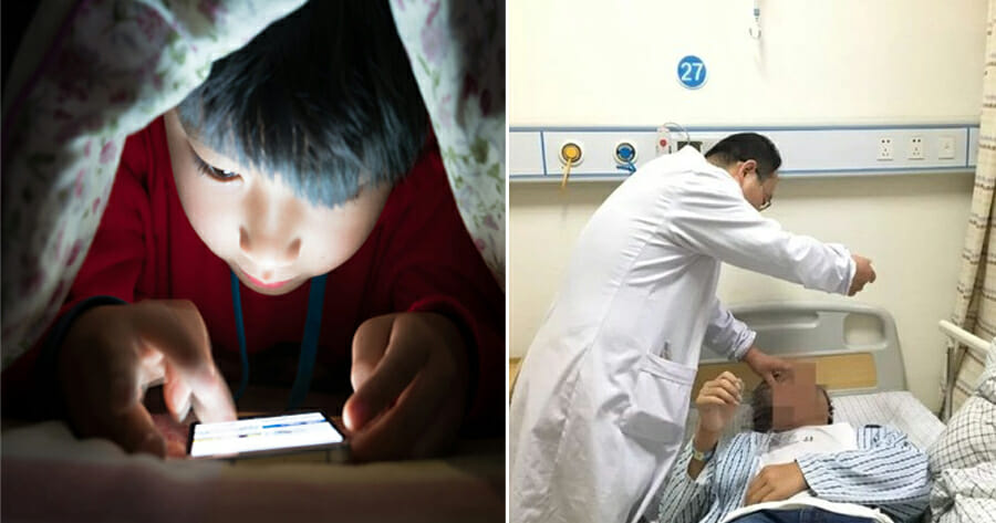 13yo Boy Used His Phone So Much That He Banged His Head Nonstop on Wall & Became Mentally Retarded - WORLD OF BUZZ 2