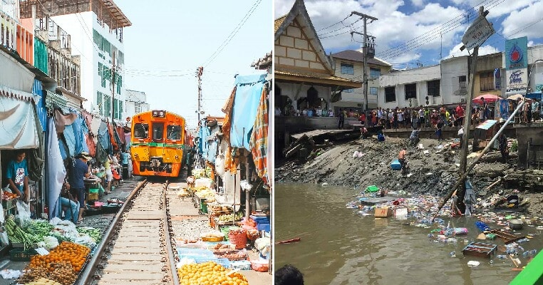 23 Injured & 2 Dead After Floating Restaurant Near Famous Bangkok Railway Market Suddenly Collapses - WORLD OF BUZZ 3