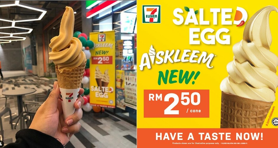 7-Eleven Just Released Salted Egg Yolk Ice Cream & It Comes With An Uneggspected Twist - WORLD OF BUZZ