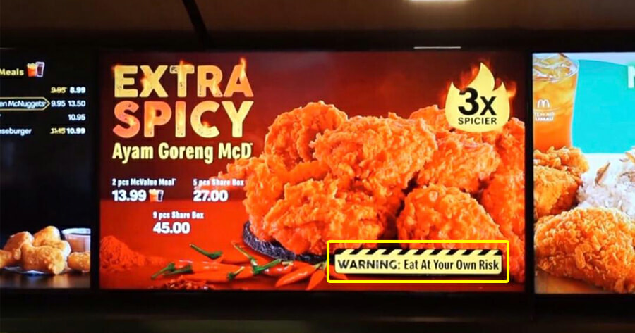 Mcdonald S M Sia Just Released A New Ayam Goreng Mcd That Is 3x Spicier Than The Original World Of Buzz