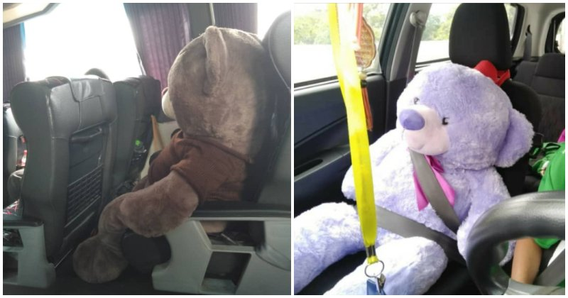 These Malaysians Are Buying Additional Travel Tickets So That They Can Bring Their Soft Toys Along - WORLD OF BUZZ