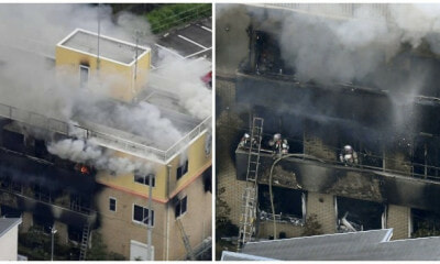 Anime Publishing Studio, Kyoto Animation, Caught Up in a Suspected Arson Attack - WORLD OF BUZZ