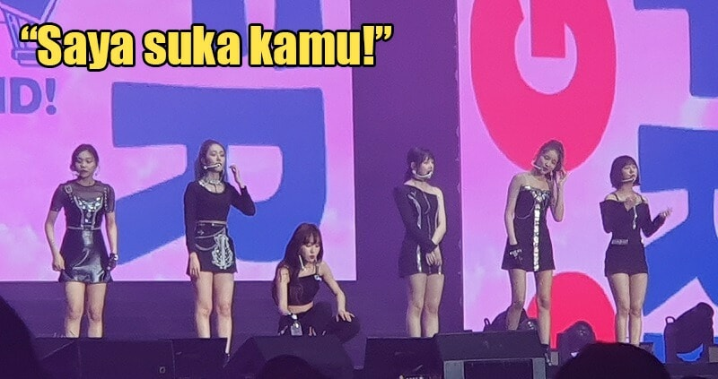 """""""Baby Sayang, Saya Suka Kamu,"""" GFRIEND Wows Malaysian Fans with BM Phrases During Their Concert - WORLD OF BUZZ 6"""