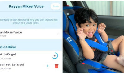 Boy's Cute Recorded Waze Voice Warms The Hearts Of Netizens - WORLD OF BUZZ