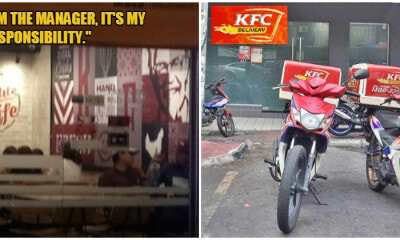 Cartoonist Zunar Praises KFC Manager Who Delivered Food Himself Cause Riders Were Unavailable - WORLD OF BUZZ