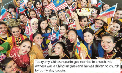 """Chinese, Malay, & Chindian"" - Family's Multireligious Wedding Shows True Beauty of Malaysia - WORLD OF BUZZ 1"