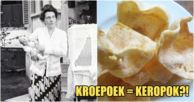 """Did You Know Dutch People Also Use the Words """"Keropok"""" and """"Tauge""""? - WORLD OF BUZZ 7"""