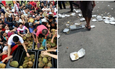 Durian Fest Reveals The Ugly Reality Of How Malaysians Are When It Comes To Free Stuff - WORLD OF BUZZ 3