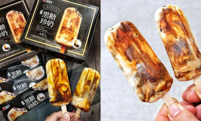 There's A New Brown Sugar Boba Milk Tea Ice Cream Bar & We Don't Know What To Think - WORLD OF BUZZ