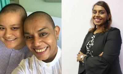 UMS Lecturer Shaves Head To Support Cancer-Stricken Student Who Lost Her Hair During Treatment - WORLD OF BUZZ