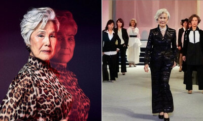 77yo Grandma Quits Job To Pursue Passion Of Becoming Top Fashion Model in South Korea - WORLD OF BUZZ