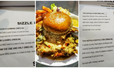 This PJ Restaurant Has A Funny and Creative Menu, Netizens Are Loving It - WORLD OF BUZZ