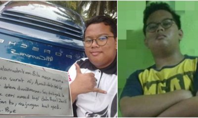 "Form 3 Top Student Runs Away From Home in Selangor, Tells Mom ""Don't Look For Me"" - WORLD OF BUZZ"