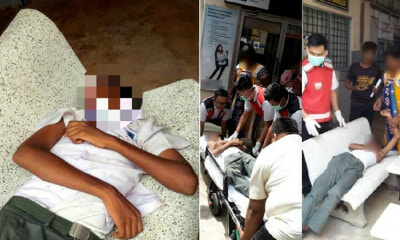 Form 2 Student in Kuantan Passed Out After Drinking Cheap Liquor But Claims He Was Set Up - WORLD OF BUZZ