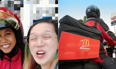 M'sian Girl Requested McDelivery To Make Funny Faces & Take Selfie, Here's What Happened - WORLD OF BUZZ