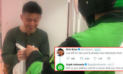 Gojek Surprises Rapper in New York by Delivering Food to Him All The Way From Indonesia! - WORLD OF BUZZ