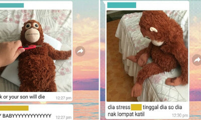 "Helu pulis? M'sian Woman's Screenshots Shows Hilarious Play-by-Play ""Kid""napping - WORLD OF BUZZ"