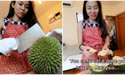 Japanese Girl Gets Bitten By 'The Durian Bug' After Malaysia Trip, Now A Durian Addict - WORLD OF BUZZ 6