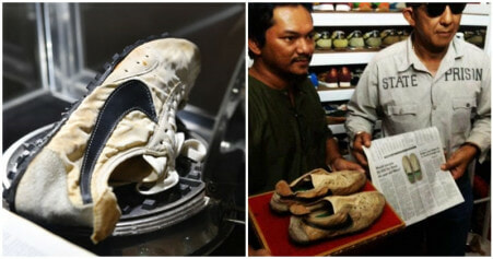 Kelantanese Man Is Owner To Rare Pair Of Nike Moon Shoes Which Costs RM1.8mil! - WORLD OF BUZZ 1