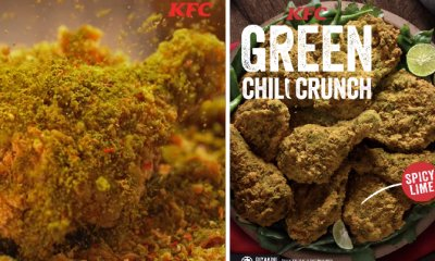 KFC Just Launched The Green Chilli Crunch Today And We're Already Salivating - WORLD OF BUZZ 3