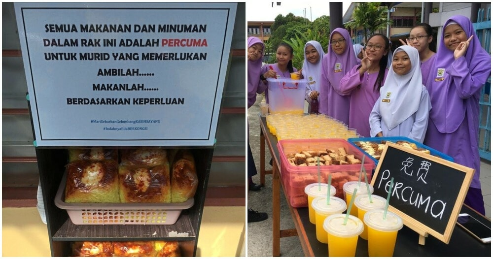 Kind-hearted M'sian Teacher Feeds Underprivileged Students Using Her Own Money - WORLD OF BUZZ 2
