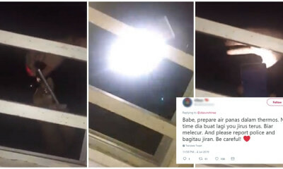 Kuantan Pervert Records Girl and Tries to Grab Her Through Her Window at 6 AM While She Was Sleeping - WORLD OF BUZZ