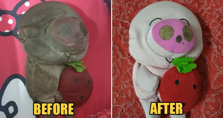 Malaysian Finally Dares to Wash His Bantal Busuk After So Long & The Transformation is Incredible! - WORLD OF BUZZ 3