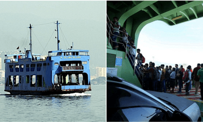 Man Jumps Off The Ferry In Pulau Pinang After He Cannot Tahan His Wife's Perangai Anymore - WORLD OF BUZZ 3