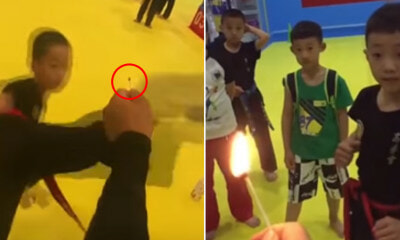 Forget the #bottlecapchallenge, These Boys Are Taking it to The Next Level by Lighting Matches on Fire! - WORLD OF BUZZ