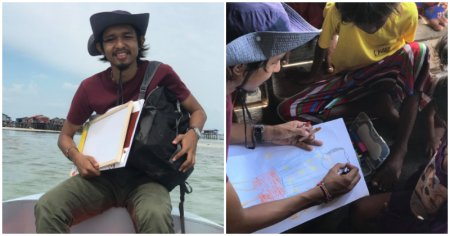 Meet The M'sian Man Making An Effort To Teach Bajau Laut Children, All On His Own Dime - WORLD OF BUZZ