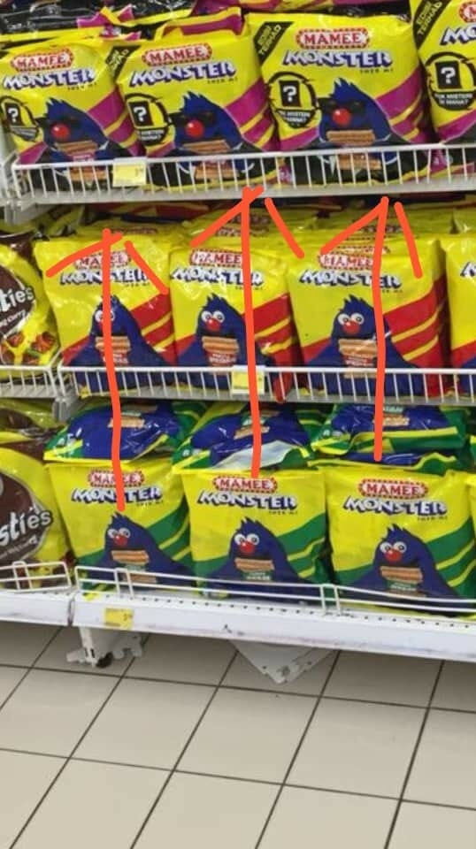 M'sian Finds Limited Edition Mamee Monster Noodle Snack Hidden in Jumbo Packs & It's Spicy AF! - WORLD OF BUZZ 3
