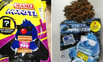 M'sian Finds Limited Edition Mamee Monster Noodle Snack Hidden in Jumbo Packs & It's Spicy AF! - WORLD OF BUZZ 6