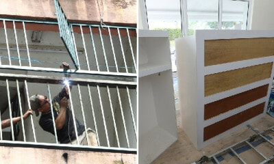 M'sian Fined RM1,000 As He Did Not Apply for Permit Before Installing Iron Grills & Wardrobes in Condo - WORLD OF BUZZ 3