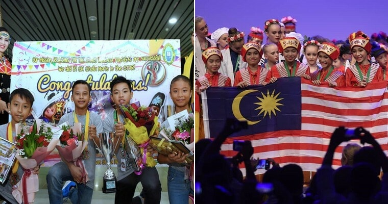 M'sian Students Win Gold Medal By Performing Sabahan Traditional Dance In International Competition - WORLD OF BUZZ