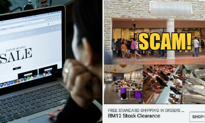 "M'sian Warns Online Shoppers After She Got Cheated on Scam Website Selling ""Stock Clearance"" Shoes - WORLD OF BUZZ 3"