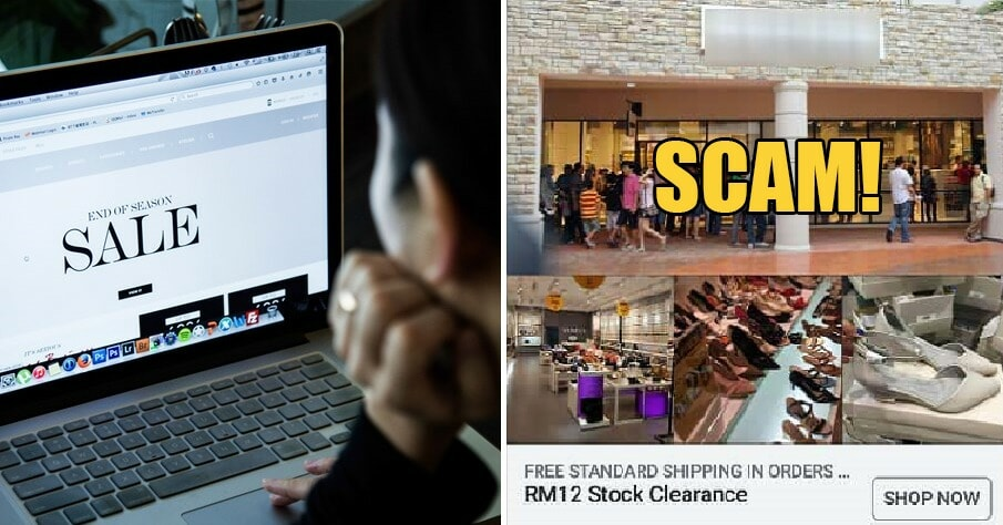 """M'sian Warns Online Shoppers After She Got Cheated on Scam Website Selling """"Stock Clearance"""" Shoes - WORLD OF BUZZ 3"""
