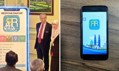 M'sians Can Make Complaints To 460 Govt Agencies By Just Using the Respons Rakyat App! - WORLD OF BUZZ