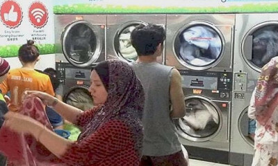 Nearly 2,000 Laundromats in Malaysia Could Be At Risk Of Exploding Because They Don't Have Gas Licences - WORLD OF BUZZ 3