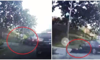 PDRM Are On The Hunt For The Black Vios Driver Who Drove Over a Motorcyclist - WORLD OF BUZZ