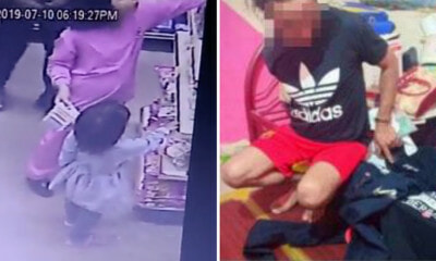 PDRM Confirms Paedophile Who Harassed 9yo Girl in Shop Has Been Arrested - WORLD OF BUZZ 2