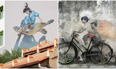 Penang Is The 7th Most Instagrammed City For Street Art IN THE WORLD! - WORLD OF BUZZ 8